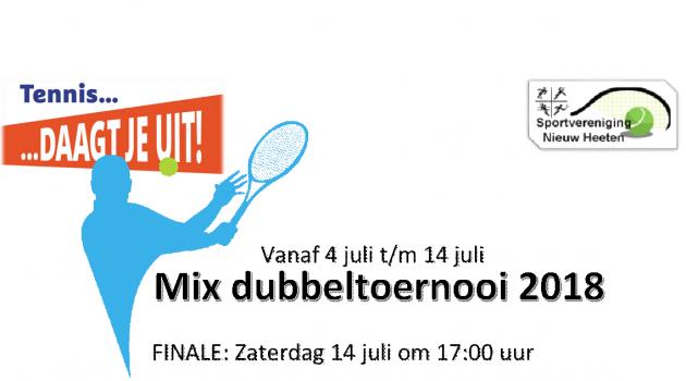 Mix dubbeltoernooi 2018