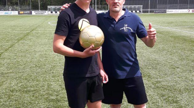 Winnaar Gouden Bal penaltyschieten, Chiel Hunneman