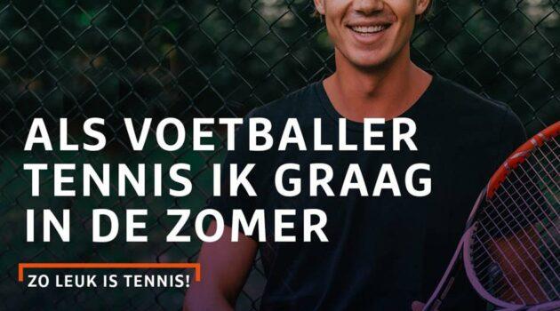 Tennis is er voor iedereen